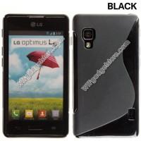 LG Optimus L5 II - Stylish TPU Soft Case Silikon Casing Back Cover Hp