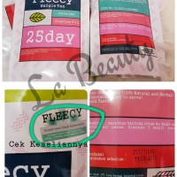 Fleecy Bangle Tea - Ada stiker anti fake