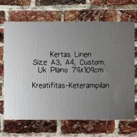 Kertas Linen A4 (21x29,7cm)