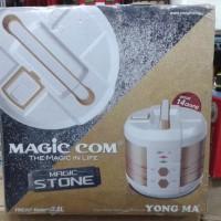 Jual YONG MA RICE COOKER YMC 207 MAGIC STONE 2.5LITER (COKLAT & PINK)  Murah