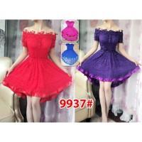 Mini Dress 9937/ Baju Pesta/ Baju Muslim/ Baju Brokat Impor