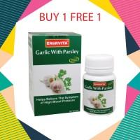 harga Garlic With Parsley, Kontrol Kolestrol & Sirkulasi Darah 30 Tablet. Tokopedia.com