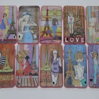 Softcase Gambar Timbul - Paris Girls - Samsung J5 Prime / On 5 2016