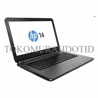JUAL LAPTOP HP14-AN030AU QUAD CORE AMD A6-7310/4GB/500GB/14/DOS RESMI