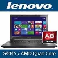 NEW LAPTOP LENOVO AMD A8 6410 /4GB/500GB/14INCH/DOS ORIGINAL  -BMI095