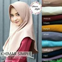 Jilbab Instan Simpel / Khimar / Hijab / Kerudung Langsungan