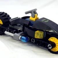 Part Out Lego 6860 The Batcave I Batcycle + Buku manual