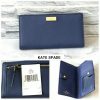 JUAL DOMPET KATE SPADE STACY INDIGO ORIGINAL