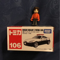 tomica no 106 nissan fairlady z patrol car