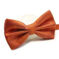 Jual dasi kupu kupu import orange grosir dan eceran bisa utk wedding Murah