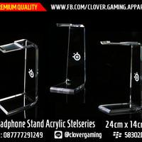 Headphone Stand Acrylic Steelseries || Headset Siberia Razer Logitech