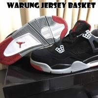 Sepatu Basket Air Jordan 4 ( Aj 4 ) Bred