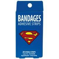 Bandages Superman 20 Sterile Strips