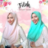 Hijab instant - Pashmina dan kerudung segiempat INSTAN jadi satu