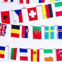 Bendera Negara Dunia Eropa Asia Afrika isi 50 negara (uk. 14 x 21.5)