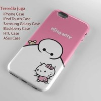 baymax hello kitty wallpaper iPhone Case & All Case HP