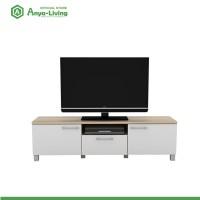 harga Anya-living Rak Tv Pico 3 Cf Sonoma Oak - Putih Tokopedia.com