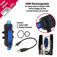 Harga lampu belakang sepeda usb rechargeable | WIKIPRICE INDONESIA