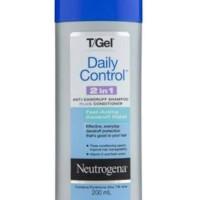 Neutrogena T/Gel Daily Control 2in1 Shampoo Conditioner Anti Dandruff