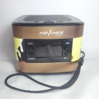 Speaker Portable Advance R3 New with LCD FM Radio MP3 USB TF Bluetooth
