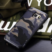 Army Case Samsung Galaxy Note 5 Hard Soft Thin Casing Hp Cover Silikon