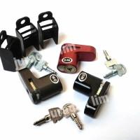 Jual Kunci Gembok Rem Cakram | Brake Disc Lock BAJA - Merk WATCH OUT (WO) Murah