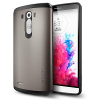 SPIGEN SLIM ARMOR LG G2 G3 back cover soft case casing bumper hard hp