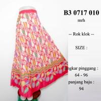 harga Rok Batik Panjang Klok Payung Merah Soft Bawahan Muslim Pias B30717010 Tokopedia.com