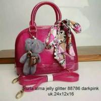 furla jelly alma glitter# tas fashion murah#PROMO jelly bags wanita