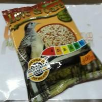 makanan burung perkutut impor love and care