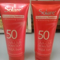Solare SPF 50 Moisturizing Sunblock + Whitening Lotion