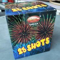 Jual Kembang Api Cake 25 shots Diameter 1 inch Murah