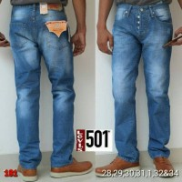 Levis 501 Import, GRADE ORI, Celana Jeans Pria 03