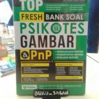 Buku Top Fresh Bank Soal Psikotes Gambar & PnP gj