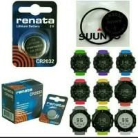 baterai battery batre suunto core casio renata original