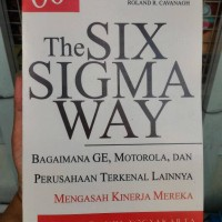 Harga the six sigma way bagaimana ge motorola perusahaan terkenal | WIKIPRICE INDONESIA