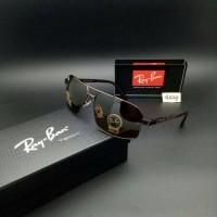 Kacamata Sunglass Vintage RAY-BAN RB4629 Clubmaster Brown