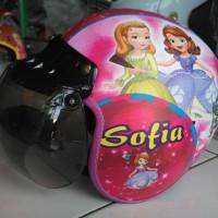 helm bogo anak 6-10 tahun (sofia)