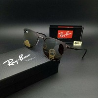 Kacamata Sunglass Vintage RAY-BAN Chris Velvet Metal Lensa Kaca Brown