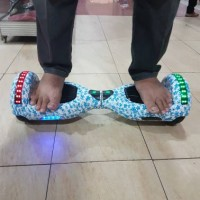 Jual Smartwheel Classic Double Led Bluetooth Music / Hoverboard Murah