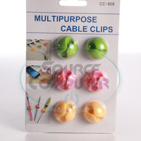 Multipurpose Cable clips / Kabel Klip Agar Kabel Rapih