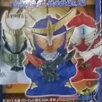 Kamen Rider Kid GAIM finger dolls 1 set (7pcs)