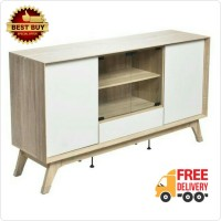 harga [free Ongkir] Meja Tv / Rak Tv Agusto Modern Minimalis White Glossy Tokopedia.com