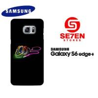 Casing Samsung Galaxy S6 Edge Plus Abstract Wallpaper 237 Custom Hardc