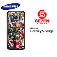 Casing Samsung S7 Edge anime wallpaper attempt Custom Hardcase