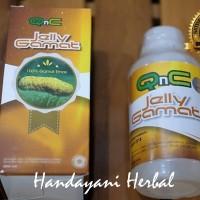 Obat Nyeri Dada Sesak Dan Batuk Tradisional - QnC Jelly Gamat ORIGINAL