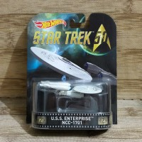HOT WHEELS STAR TREK U.S.S. Enterprise NCC-1701 Retro Entertainment