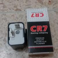 Relay flasher lampu LED sein sen 2 kaki universal cr7 best quality