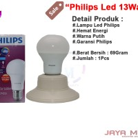 Philips Bulbs 1400L E27 220 - 240V 13 Wat Jm Lampu Led Mutiara Putih