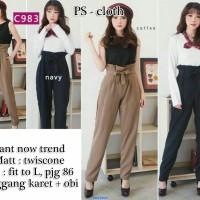 pants now trend-celana panjang-style wanita-casual-ROC